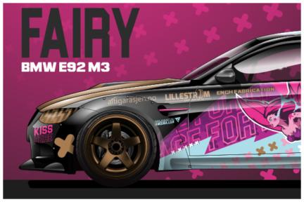 PINK FAIRY – Karin E. FOssen DRIFT CAR
